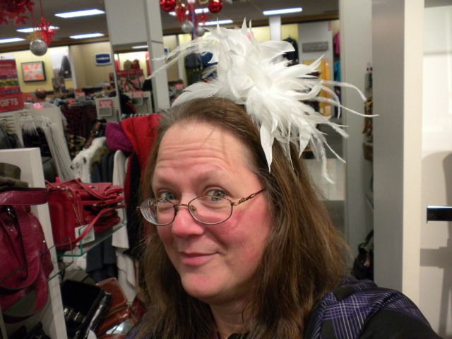 silly chapeau shopping at kohls