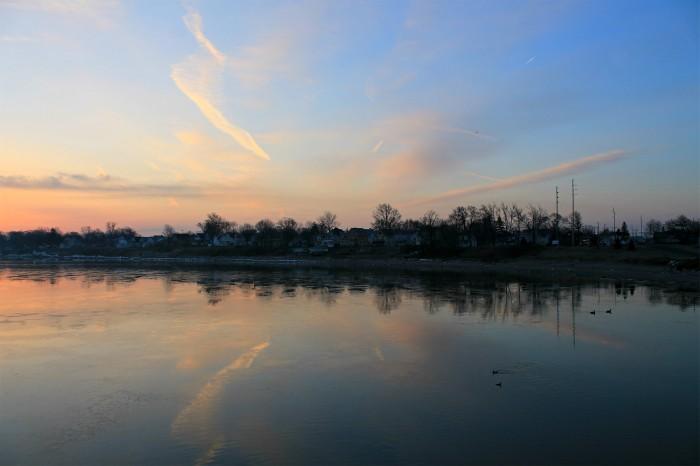 east side sunrise