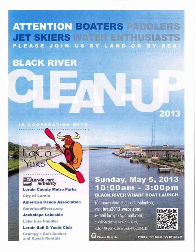 Black River Cleanup 2013