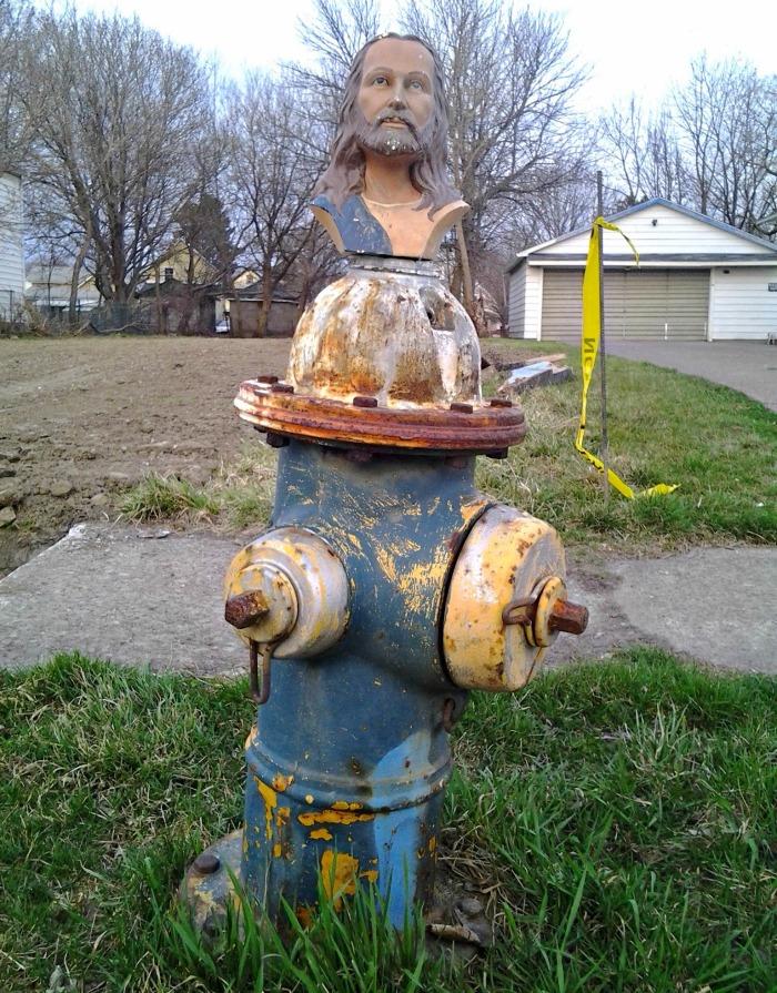 holy hydrant