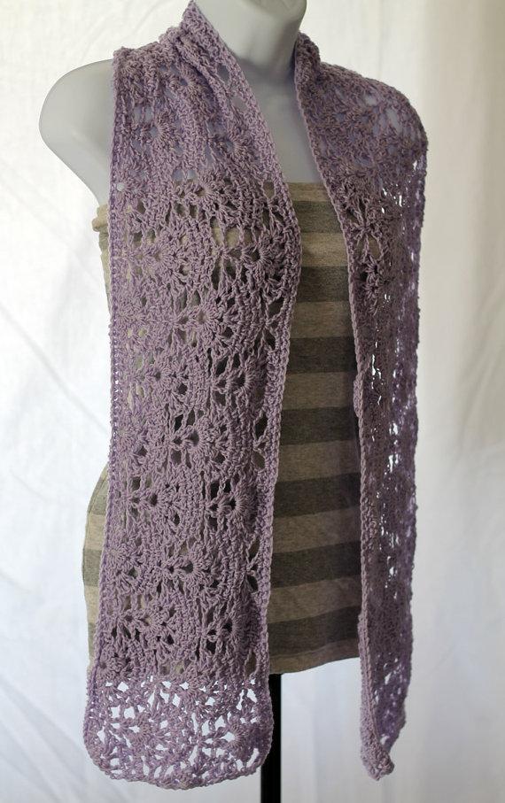 Julian Bean lace scarf