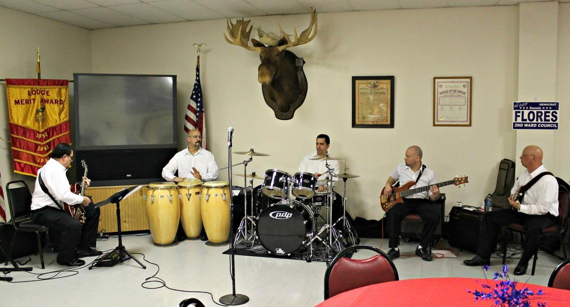 latin jazz players at lorain moose club