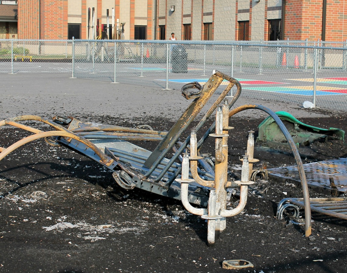 AKES playgrounds 2 burned