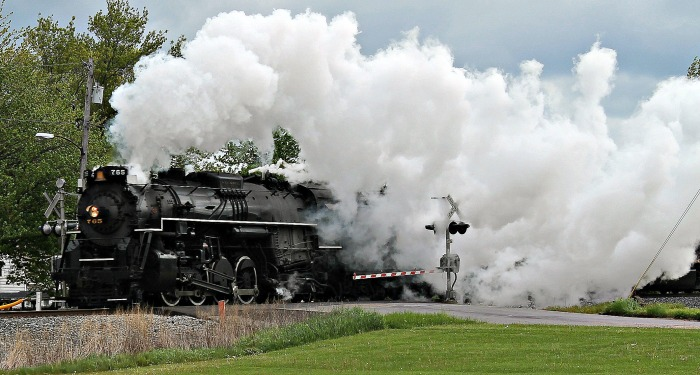Nickel Plate Road engine only