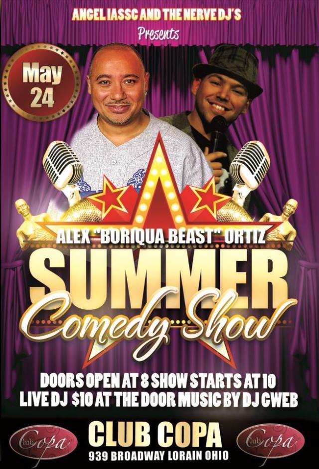 summer comedy show 052413