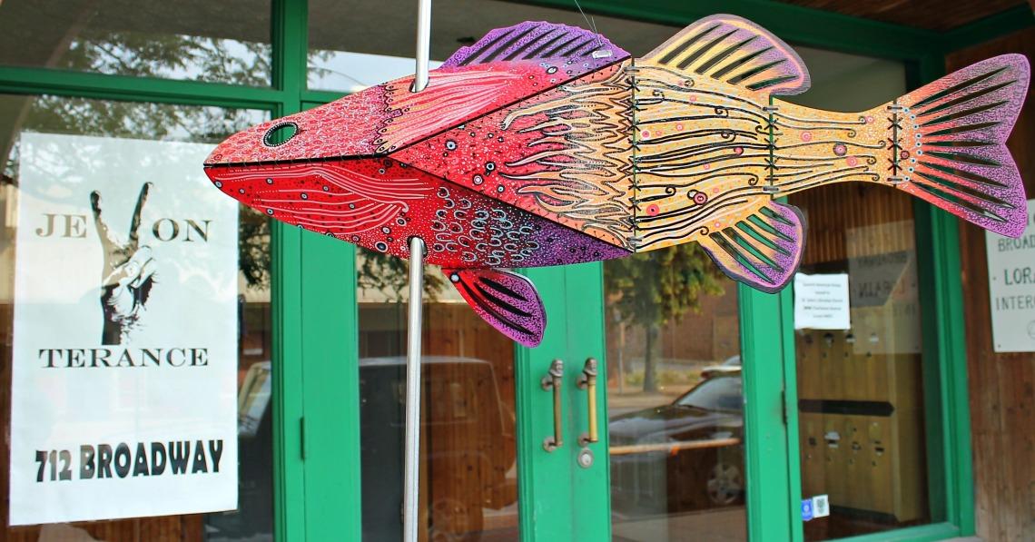Follow the Fish artSHop Jevon Terance 1