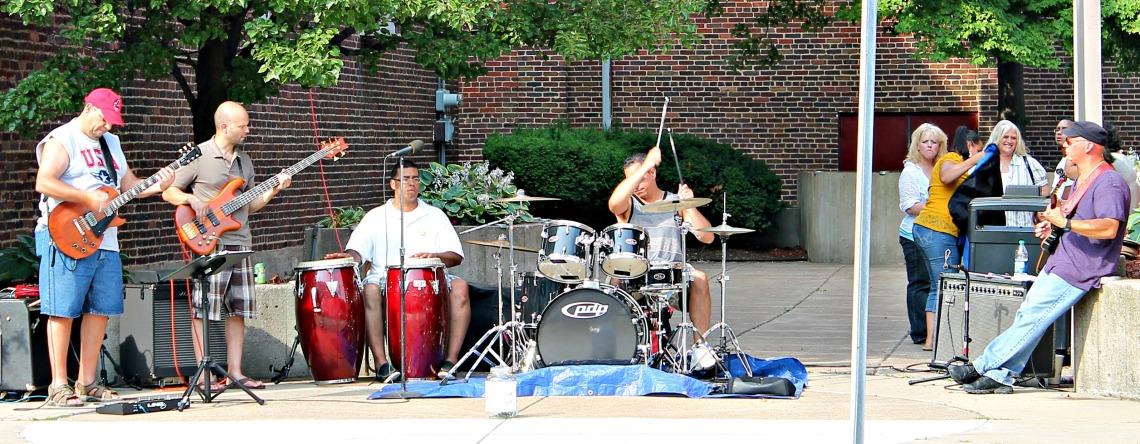 Follow the Fish artSHop Latin Jazz Players