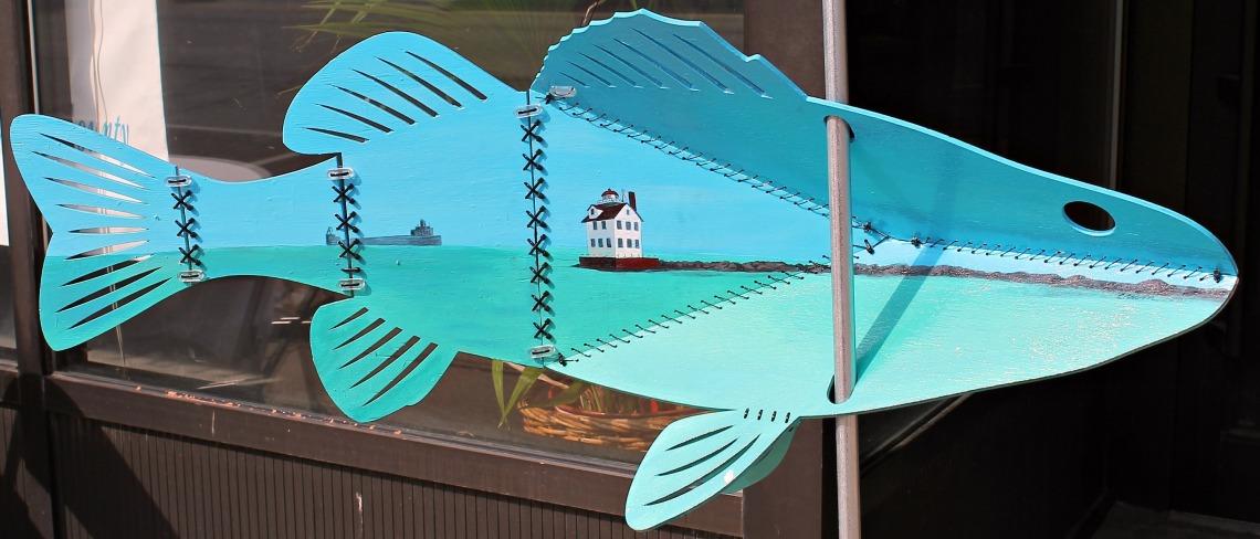 Follow the Fish artSHop Lorain Arts Council 1