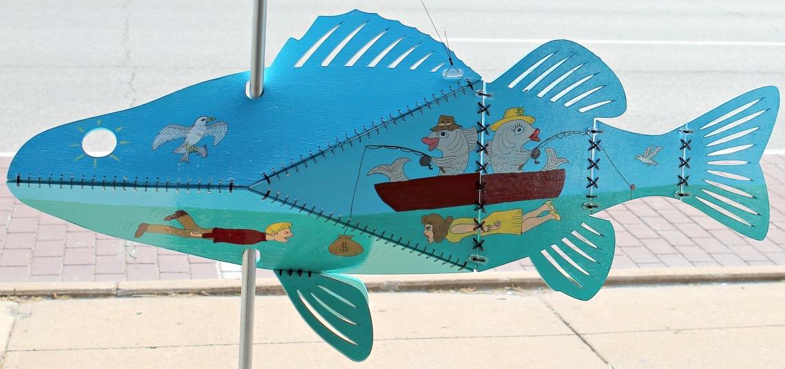 Follow the Fish artSHop Lorain Arts Council 2