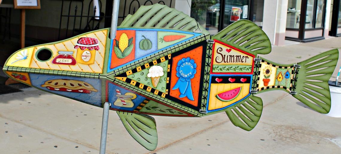 Follow the Fish artSHop Lorain Palace 1