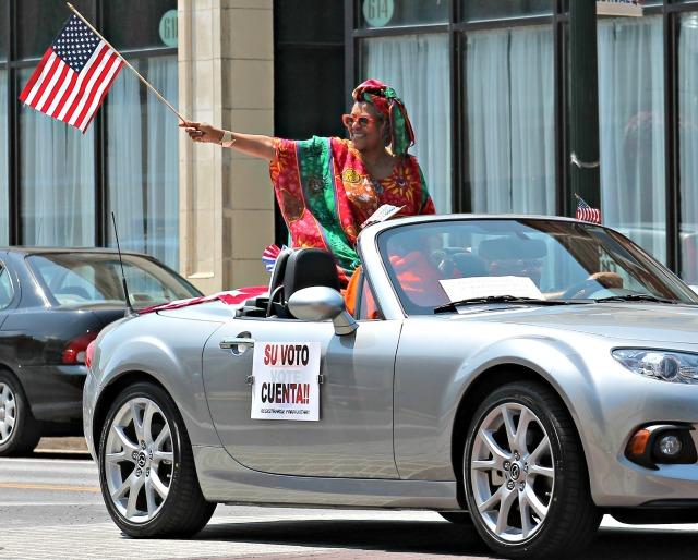 Juneteenth Parade Bessie Eva Nelson