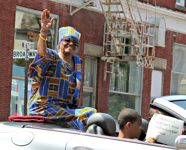 Juneteenth Parade E Jean Wrice