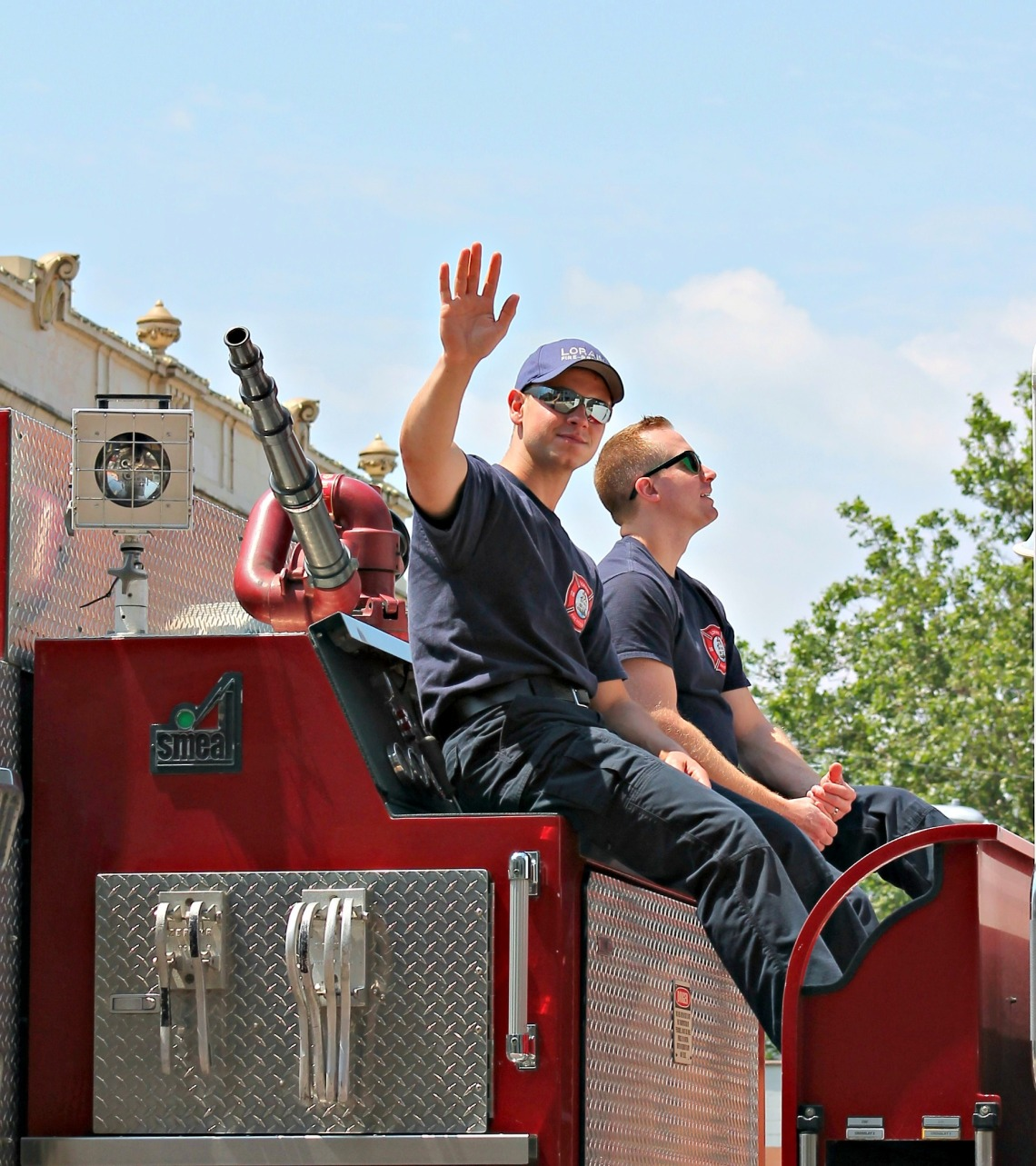 Juneteenth Parade LFD for Ree