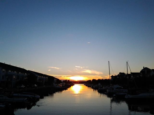 HW sunset 072513
