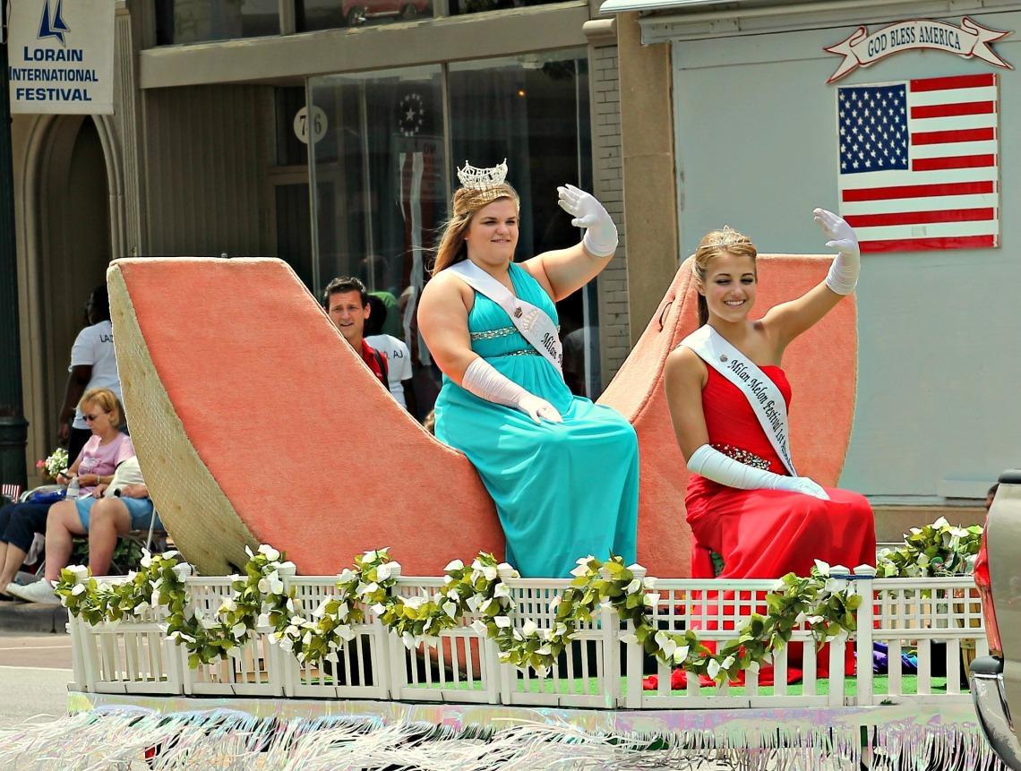 International Parade milan melon festival