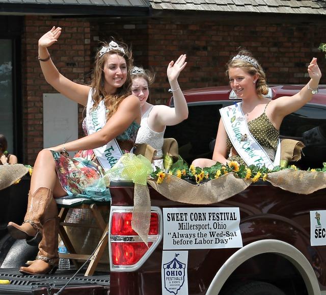 International Parade millersport sweet corn festival