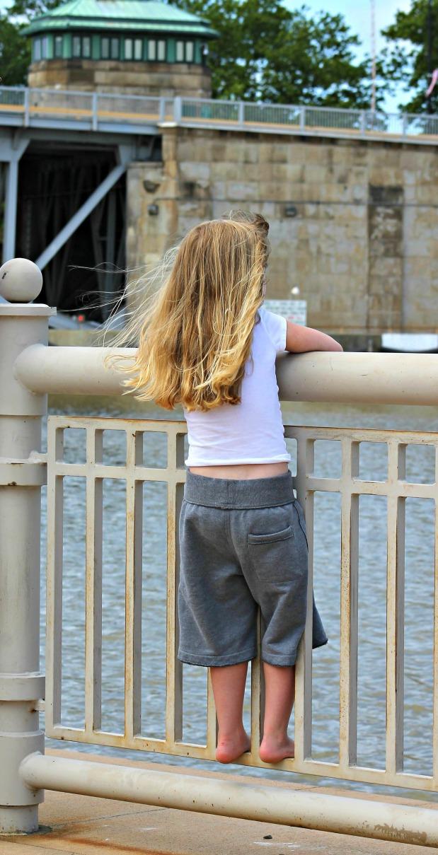 International Parade railing girl