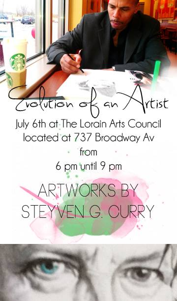 steyven g curry art show 7.6.13