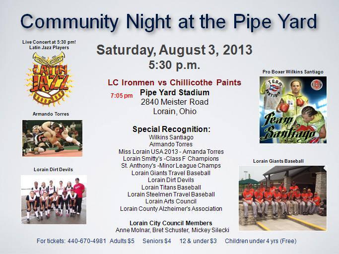 community night at pipe yard 080313 530p