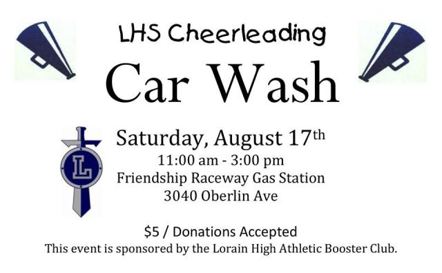 lhs cheerleader car wash 081713