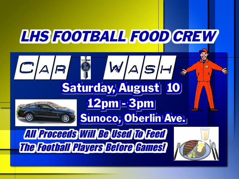 LHS Football Car Wash 081013