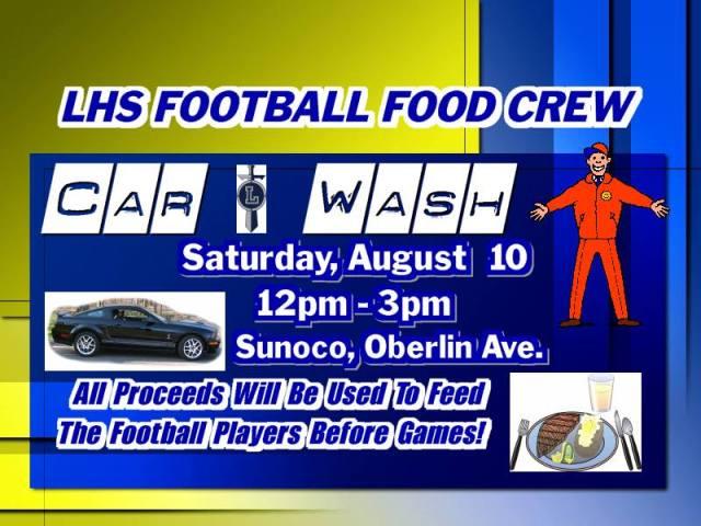 LHS Football Car Wash 081013