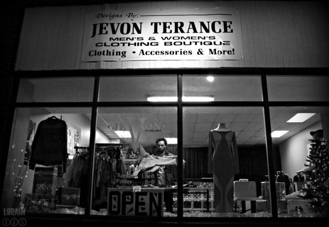 Jevon Terance storefront