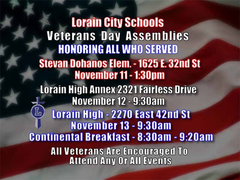 LCS Veterans Day