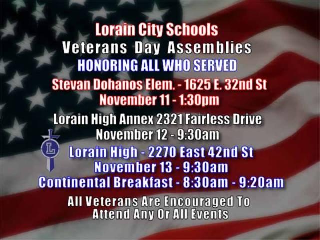 LCS Veterans Day