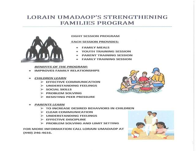 Lorain UMADAOPs Strengthening Families Program