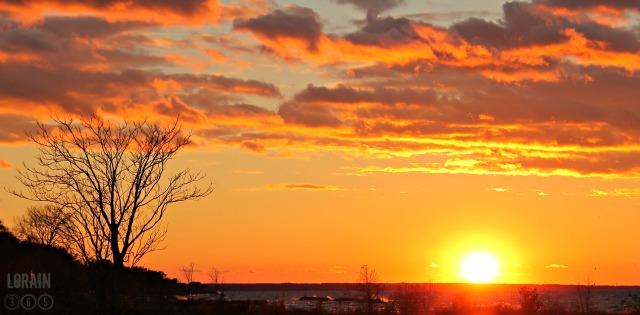 November sunset wm