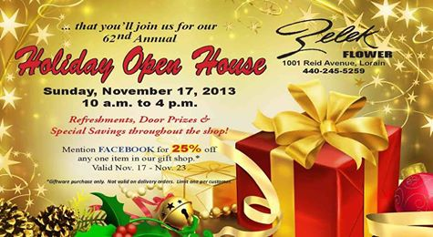 zelek holiday open house 111713