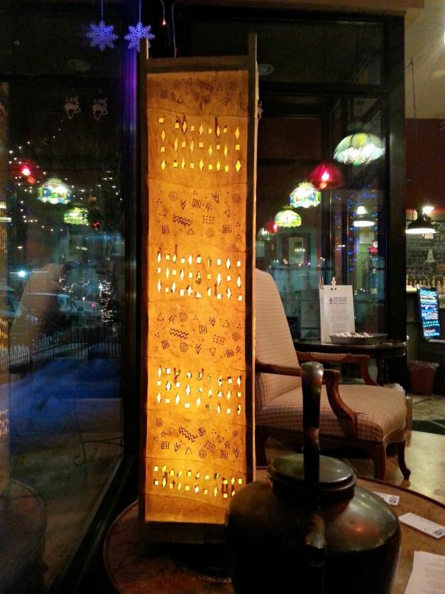 coffee shop luminary