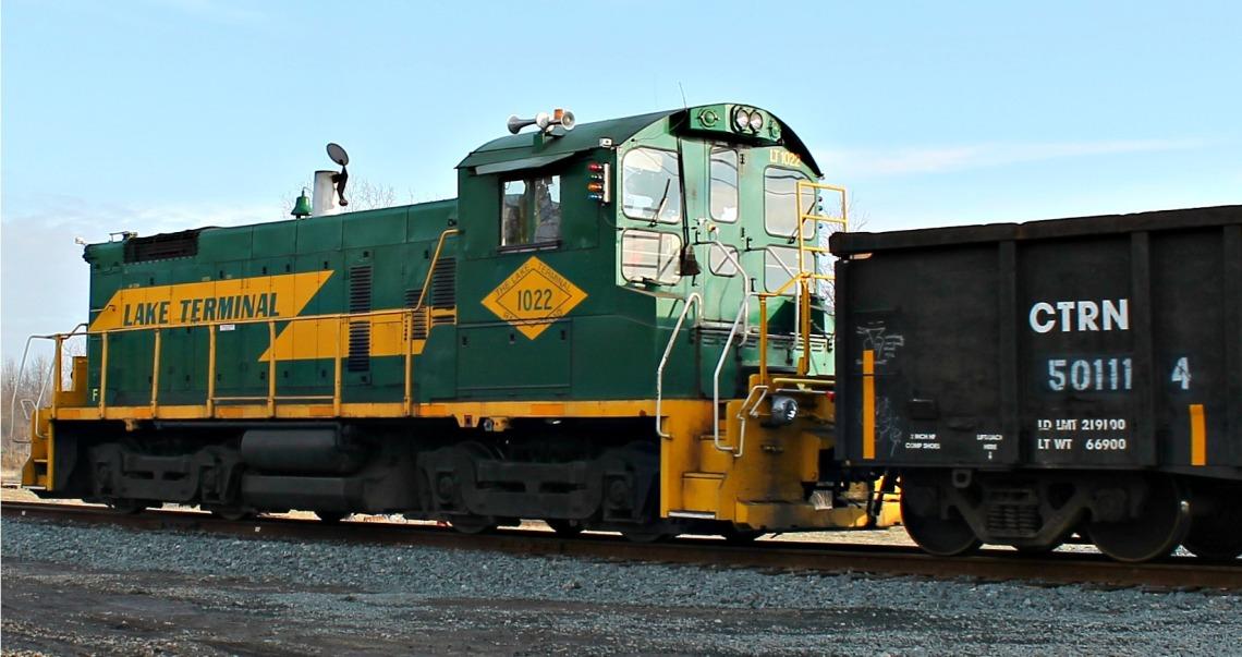 lake terminal locomotive