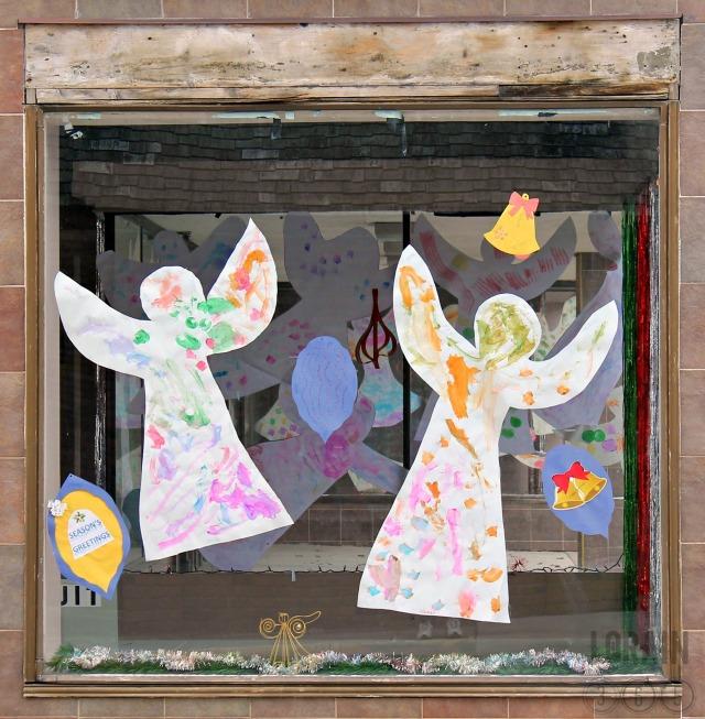 preschool painted angels