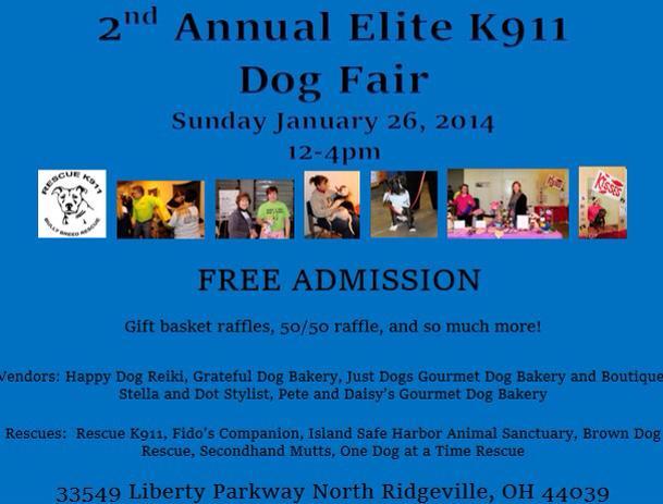 elite k911 dog fair 012614