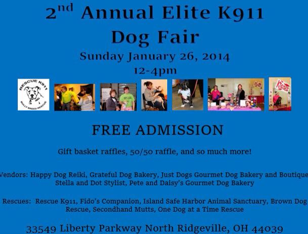 elite k911 dog fair 012614