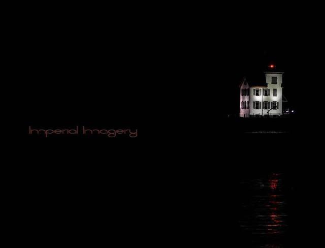 Imperial Imagery Eric Bonzar lightouse at night