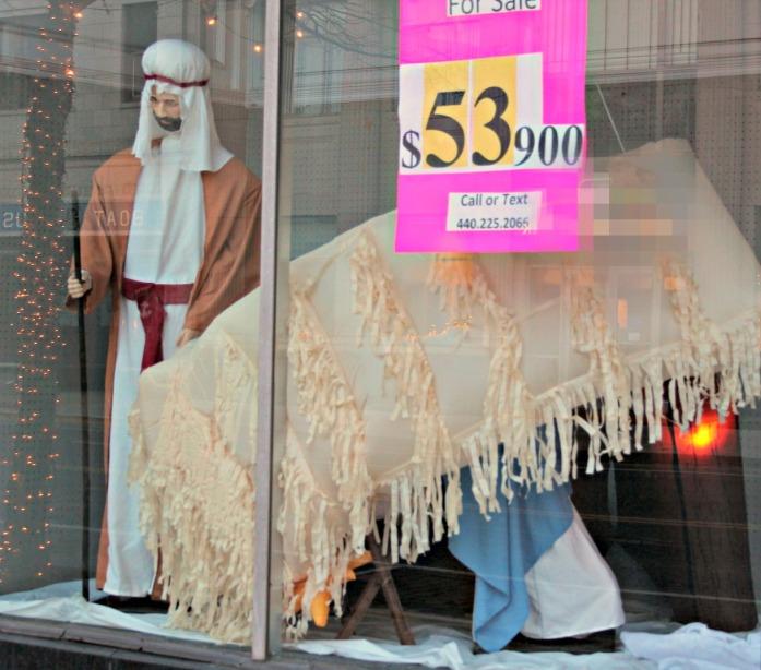 tragic manger collapse for sale