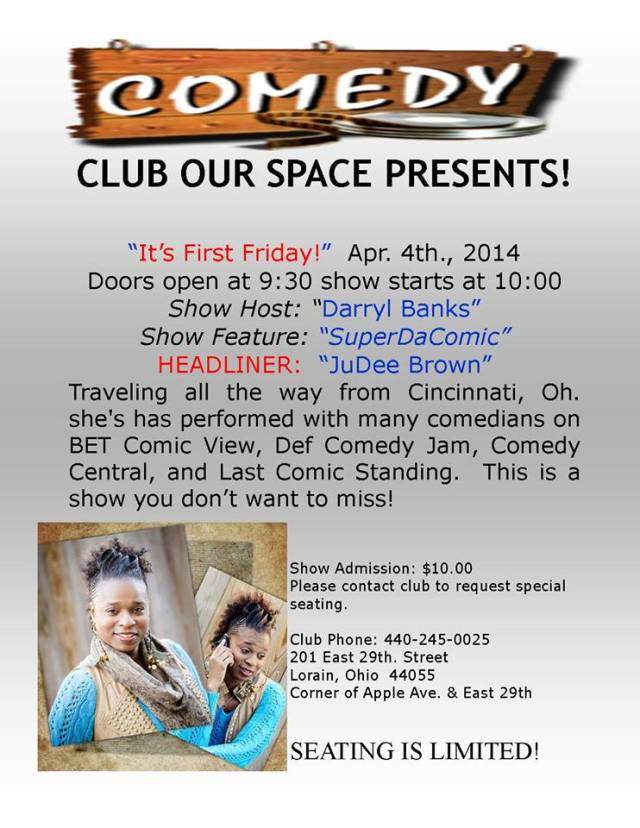040414 comedy club our space