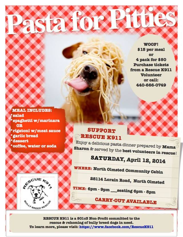 041214 pasta for pitties rescue k911