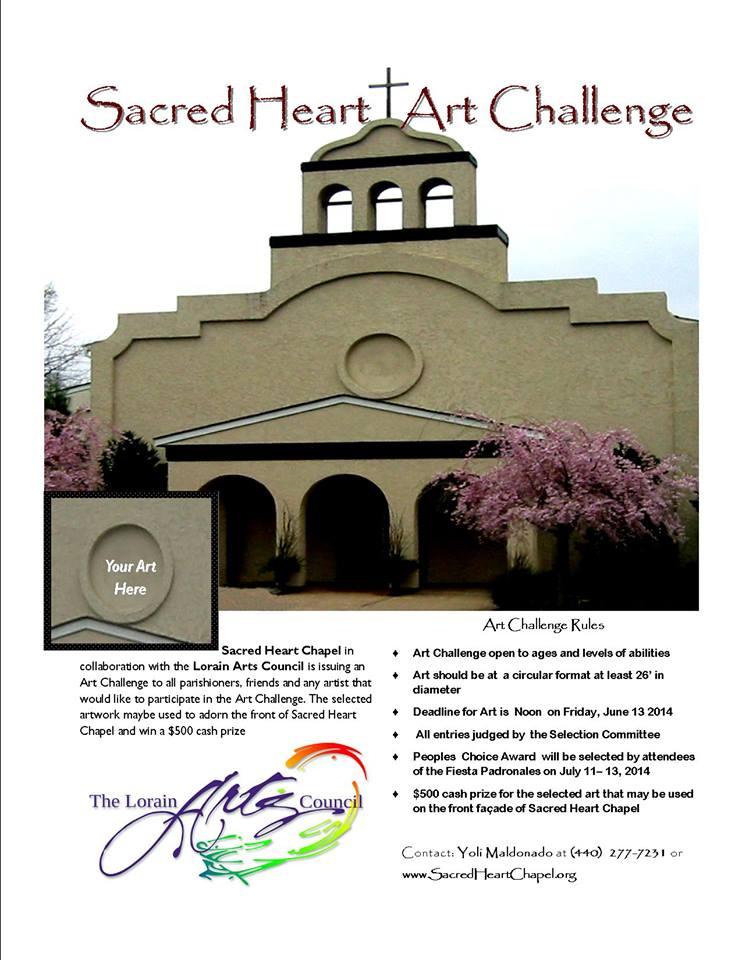 Sacred Heart Art Challenge