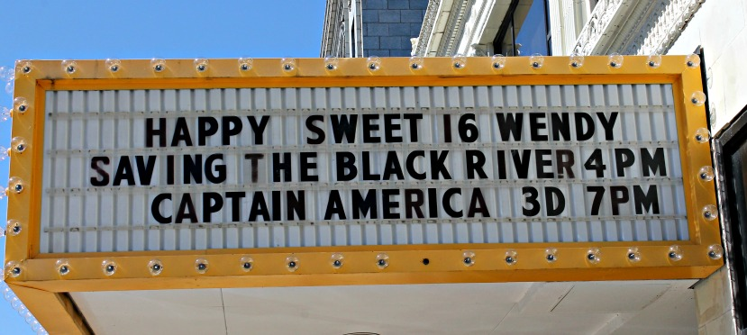 Saving the Black River marquee
