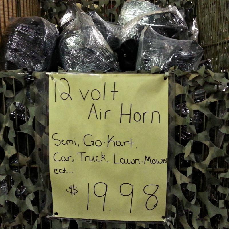 airhorn rs