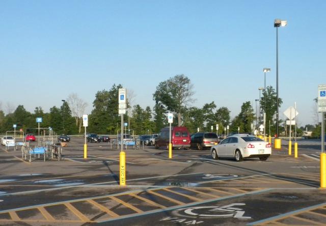 early morning WalMart