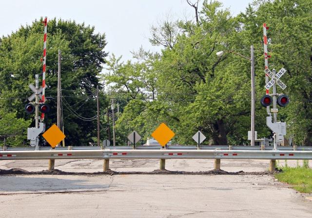Long Avenue RR crossing