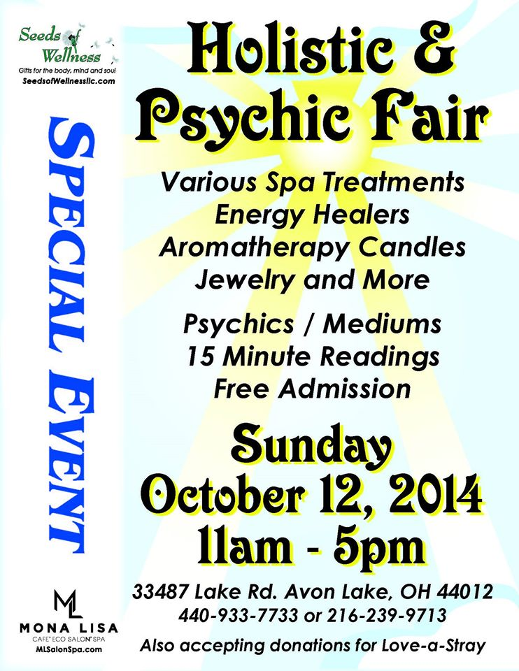101214 Loveastray holistic psychic fair