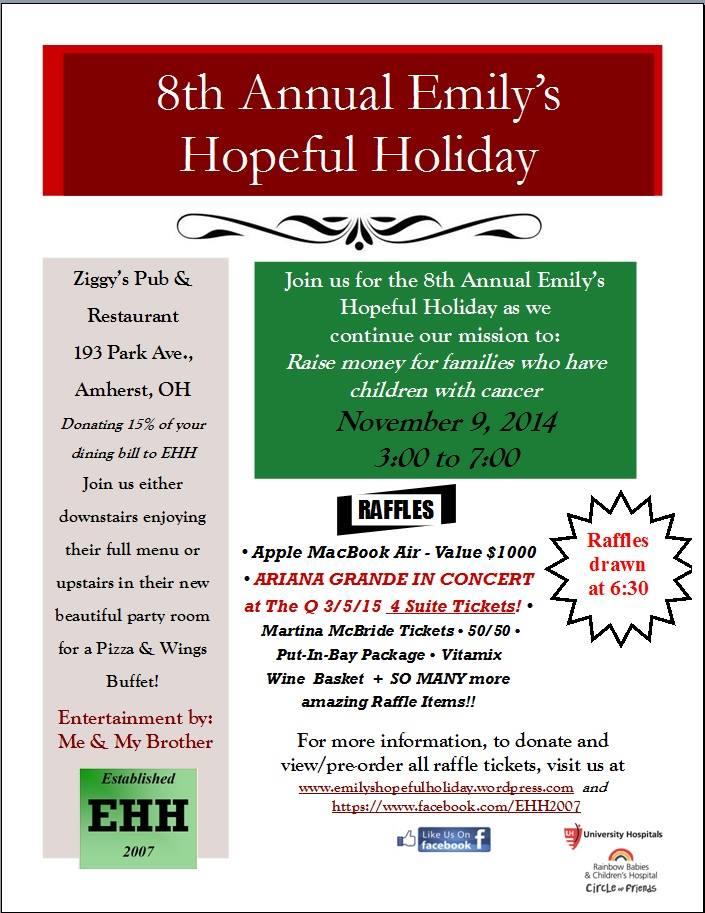 8th annual emilys hopeful holiday