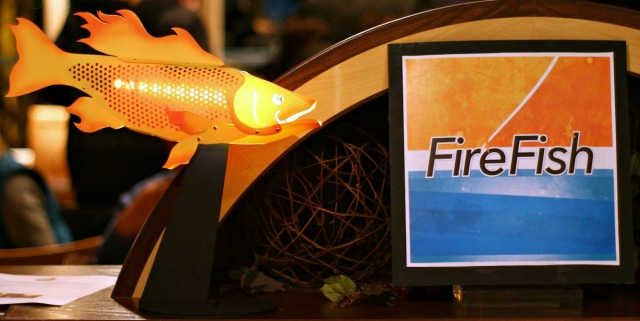 FireFish a Festival of Art Fire and Water Ignite 2015