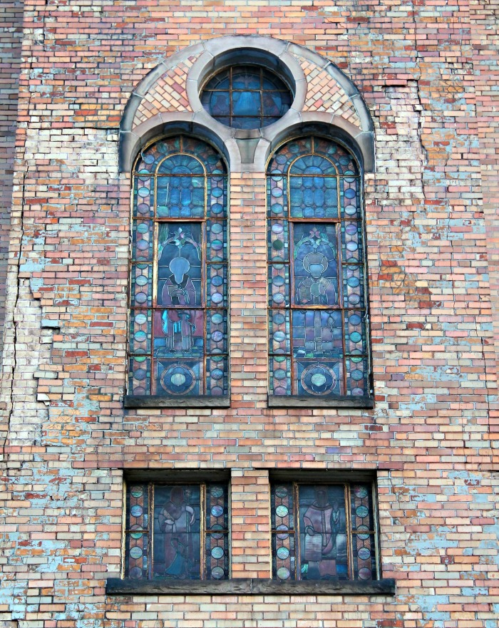 St - Greek Catholic Church windows